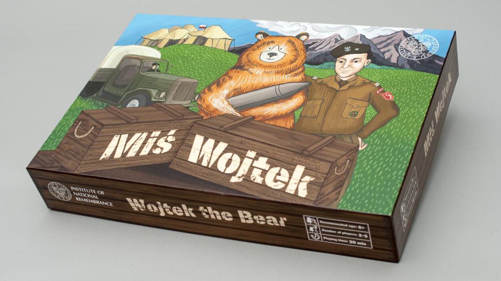 Miś Wojtek – zdjęcie pudełka