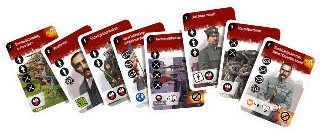 Niepodlegla galeria kart z gry